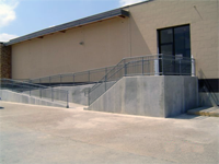 ADA Handicap ramps